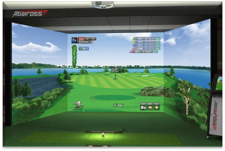 Screen golf product OEM