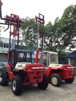 Rental Imported Manitou Rough Terrain Forklift
