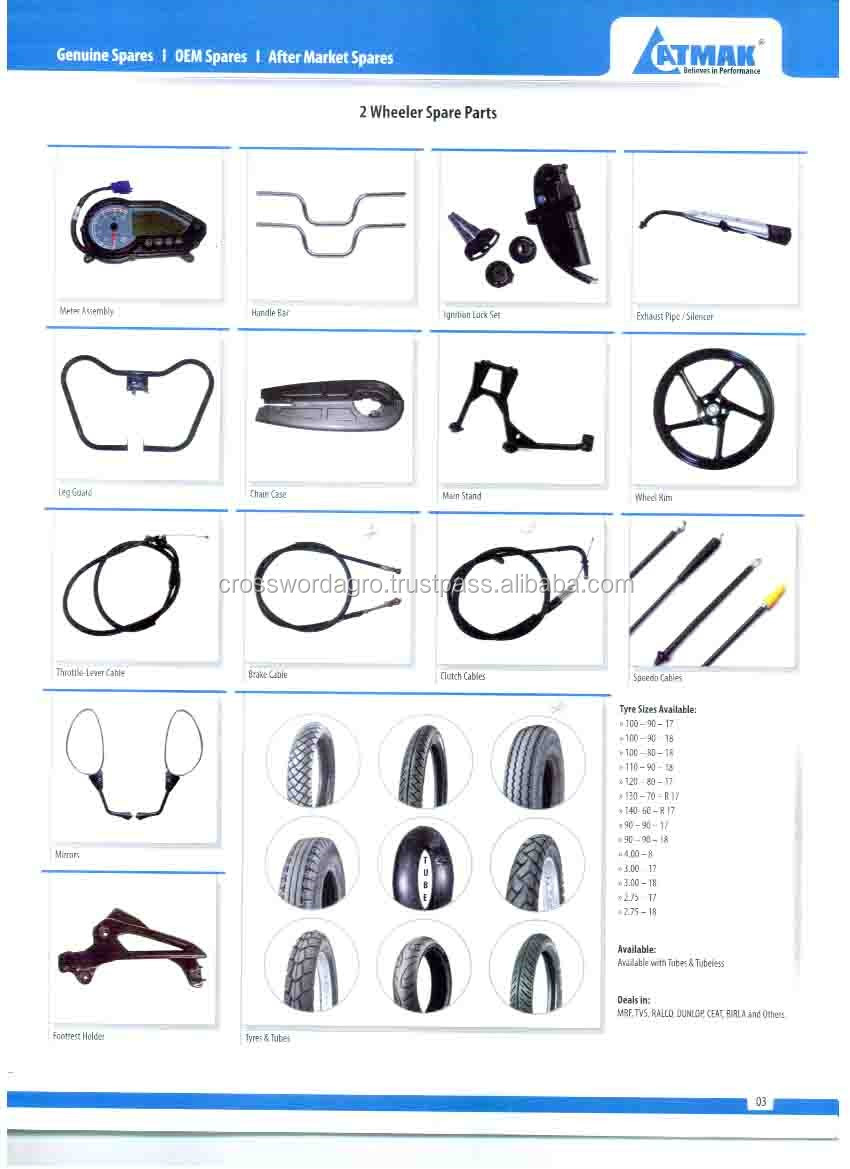Motorcycle spare parts in India