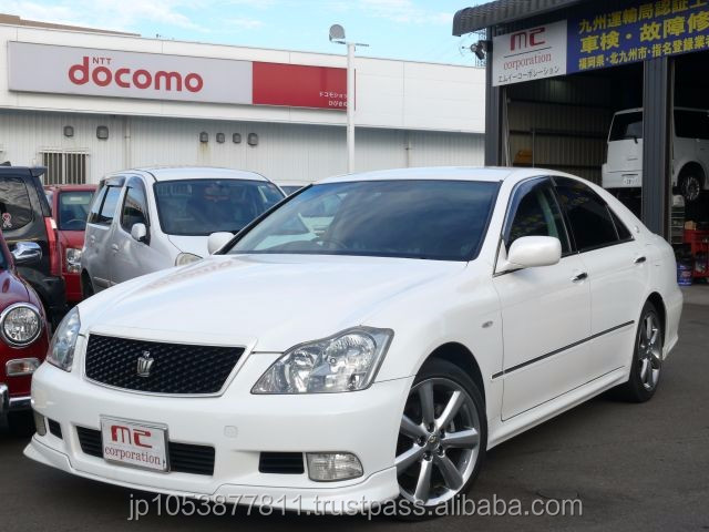 Right hand drive and Reasonable toyota use cars with Good Condition made in Japan CROWN ATHLETE 2004