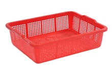 Plastic Crate: Best solution for high loading, durable product, design with plenty of vents E162