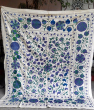 Real Hand Embroidery Suzani Bed spreads