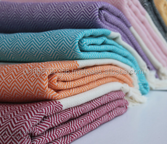 100% Organic Cotton Peshtemal Turkish Towel