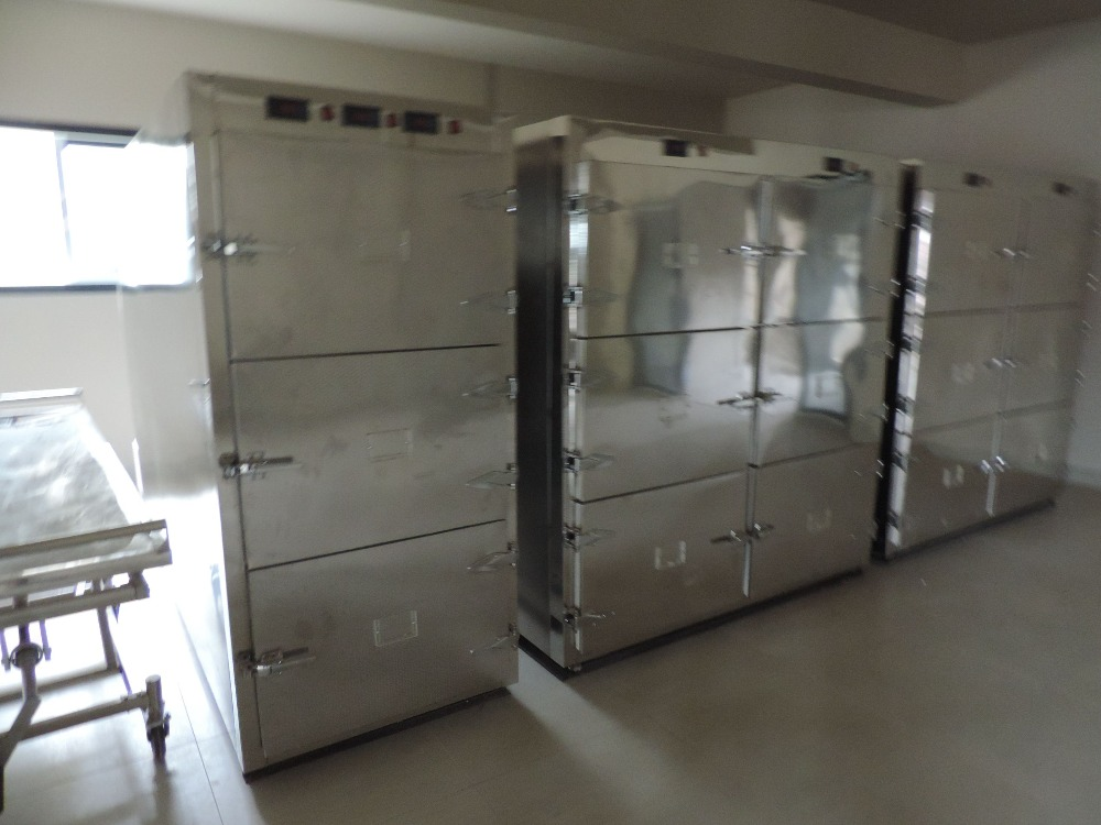 corpses cold storage room temperature adjustable morgue freezer for sale chamber
