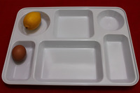 Malaysia Made Melamine 6 Compartments Plate