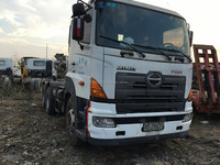 USED Total-40ton 3 Passengers-Allowed 2007 Japan HINO 700 Tractor Trailer Truck