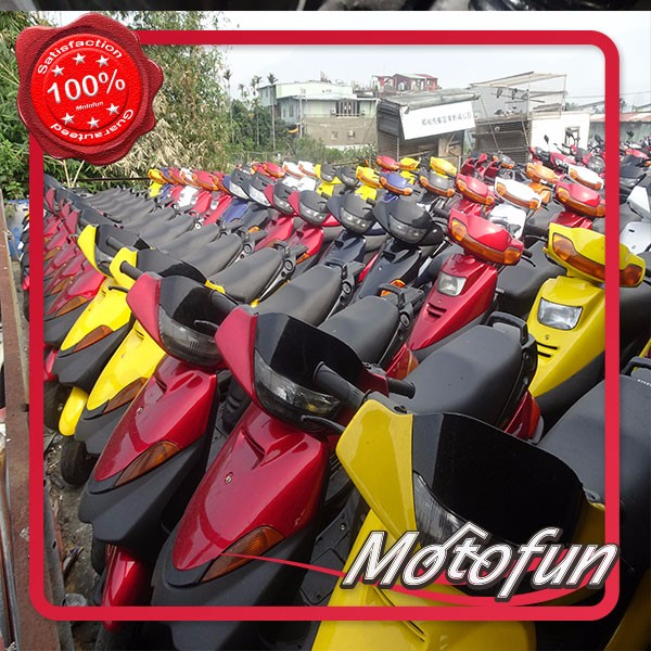 Taiwan Used Motorcycles for sale/second hand scooters JOG,FUZZY,BWS,FORTE,FORCE,CYGNUS X Export