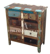INDIAN RECYCLED WOODEN SIDEBOARD CABINET OR ALMIRAH