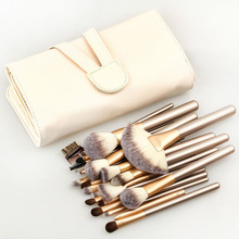 Pro 24 Pcs Makeup Brushes Cosmetic Tool Kit Eyeshadow Powder Brush Set.