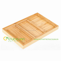 Rectangle, fashionable and new design bamboo tray