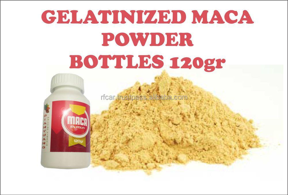 how to take gelatinized maca powder