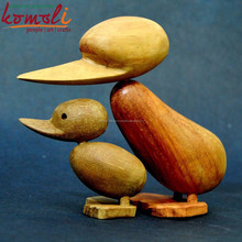 Amazing danish design hand carved wooden ducks india wood carving elephant