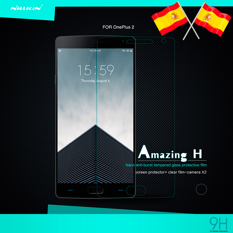 Tempered Glass for OnePlus Two (2) - Nillkin Amazing H Original