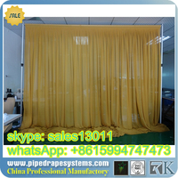Adjustable Pipe And Drape Pipe And Drape Wedding Backdrop And Pipe And Drape Stands For Wedding From Golden Supplier