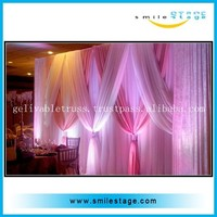 good manufacture adjustable pipe curtain stand used backdrop stand for sale