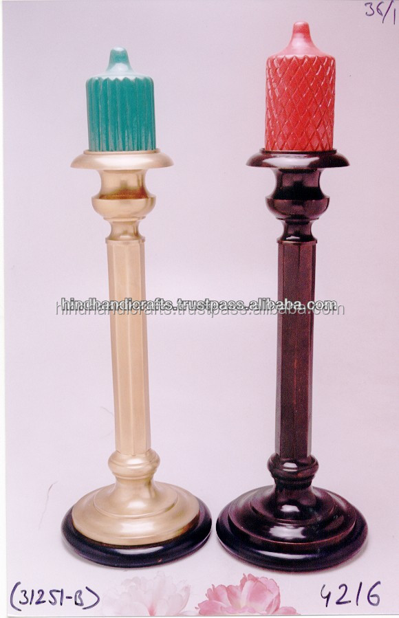 Antique Pillar candle Holder For Home Decor