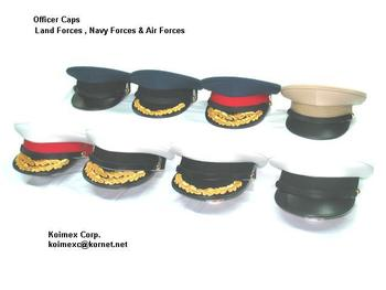 Military Officer Cap