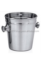 Stainless steel Beer Bucket without lid with round knoobs