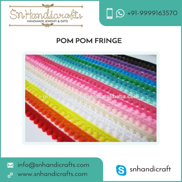 Pompom Trim Pom Pom Fringe Wholesale Buyer