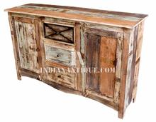 INDIAN SOLID MANGO WOOD RECYCLED SIDEBOARD FURNITURE RMC-08