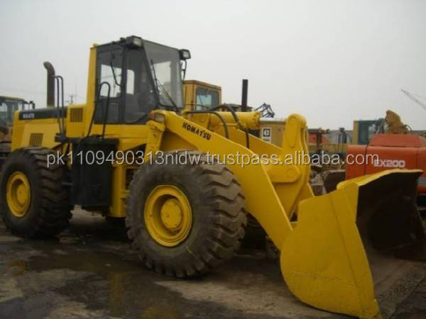 used japanese komatsu wa470-3 wheel loader for sale, used komatsu wa470 loader