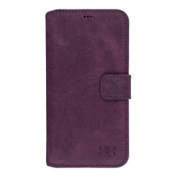 purple super leather mobile phone case for samsung galaxy S7 Edge