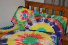 Wholesale indian Custom Tie Dye Single Bed Quilt Cover Set 100% Cotton tapestry doonas cover set