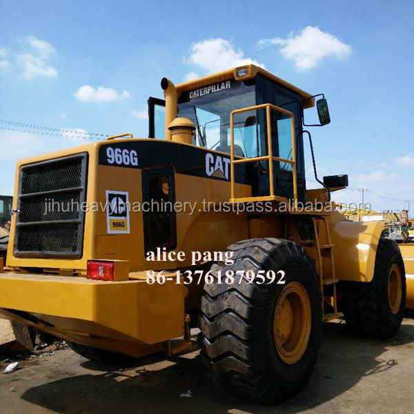 235hp Loading machine Cheap used caterpillar 966 wheel loader