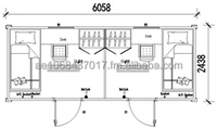 Prefabricated Container for 2 persons