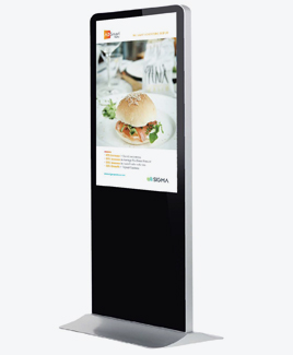 "42""/46""/55""/65"" Floor Standing Digital Signage, Totem, LCD Advertising Kiosk"