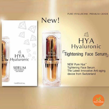 HYA Serum booster Hyaluronic tightening face serum anti-aging fresh and radiant skin restore firmness antiwrinkle reducing skin