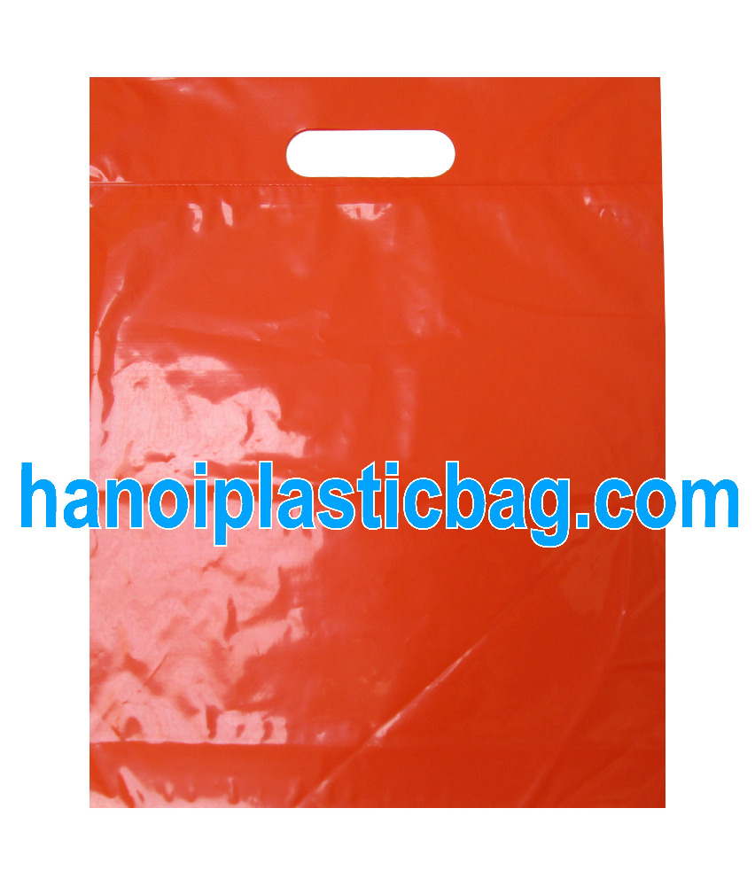 Full printed die cut bag/ HDPE/LDPE shopping bag/ customized bag best price