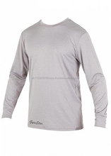 A loose fitted short-sleeve UV and rash protection surf UV tee shirt designed for men/ rash guard