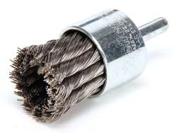 Knot Wire End Brush Steel 1-1/8 In.