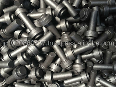Alloyed steel cold and hot forged products rod tube