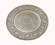 Moroccan Table round tray Charger plate