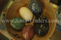 Marble Handicrafts / Marble Egg / Marble Onyx Egg /
