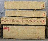 NATURAL STONE INDUS GOLD MARBLE MONOLAMA BLOCKS
