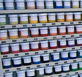 Pigment pastes concentrates for epoxy polyurethane and waterbased systems