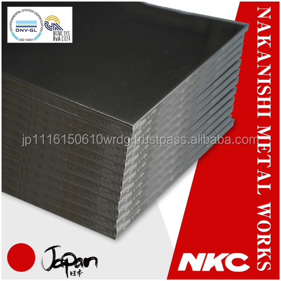 Reliable sheet metal material composition of SPCC with high degree of workability