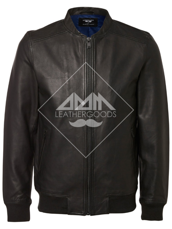 Genuine Leather Jacket | casual basic ripped | wholesale