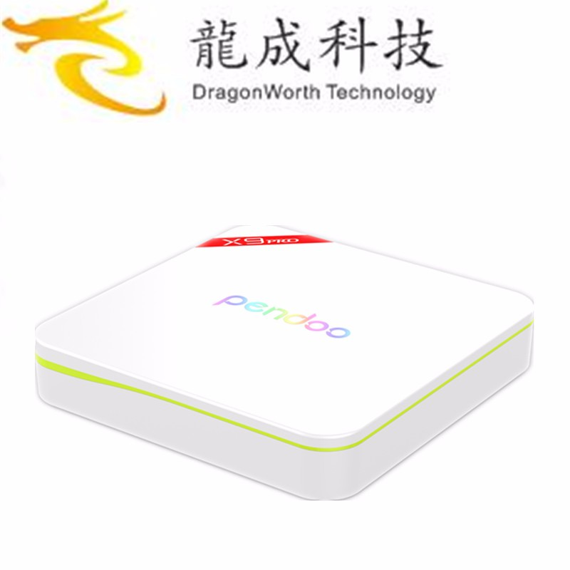 Factory Price Pendoo X8 Pro + Amlogic S905X 2g 16g Quad Core TV Box Android 6.0 Set-Top Box