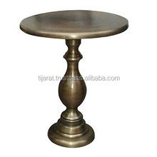 Brass Antique Aluminium Coffee Table / Corner Table / Metal Side Table
