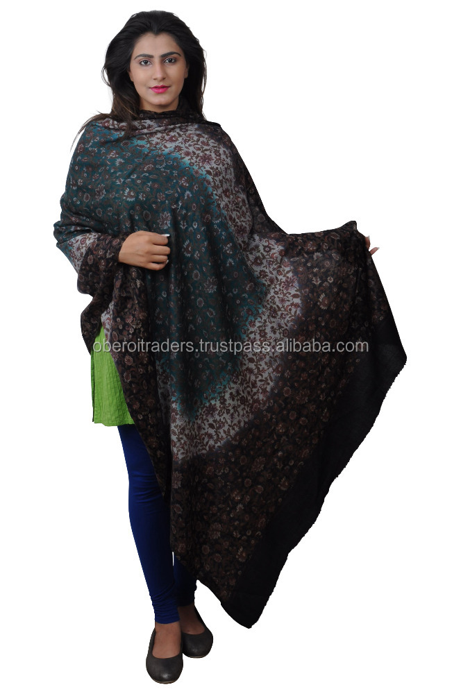 Indian Cashmere shawls 100% wool custom made best quality