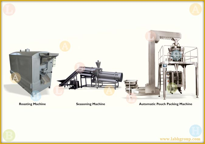 Roasted Sunflower Seeds snacks production line machines equipment