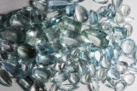 GEMSVILLAGE - 2250 CARATS NATURAL FACETED STONE FROM BRAZIL BLUE TOPAZ