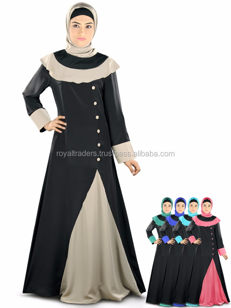 China Direct Factory Wholesale Ladies Long Evening Dress Women Fashion Dress Muslimah Jubah