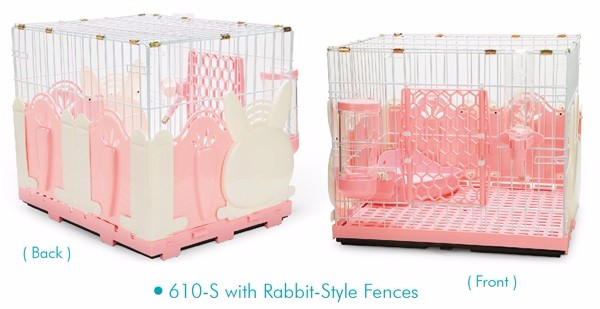 Rabbit Style Fence for Cage