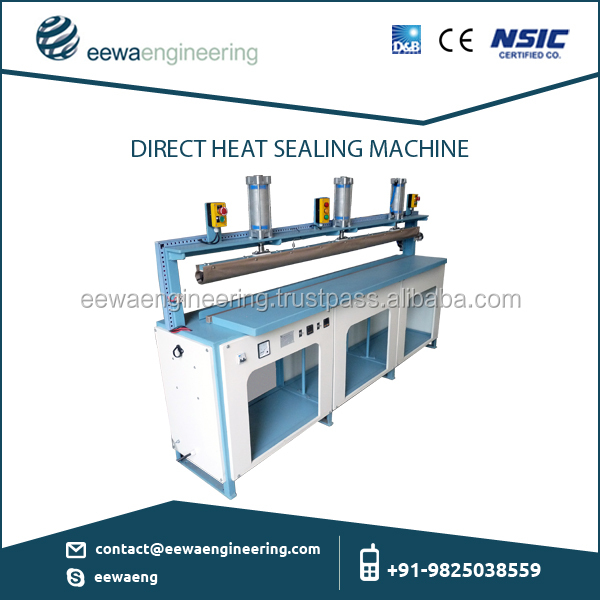 Semi-Automatic Heavy Duty Hot Bar Sealer with Accurate Temperature Controller