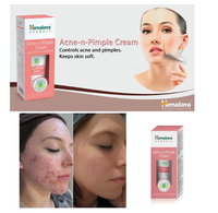 Unisex Natural Skin 20GM Pimple Acne-Scar free Himalaya Herbals Cream Free